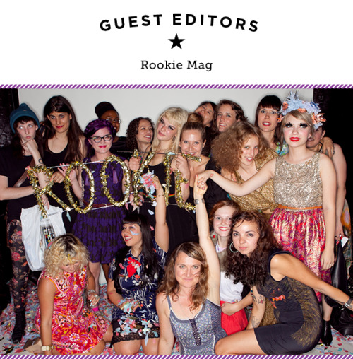 You don't have to be a teenage girl to fall for Rookie, the online mag created by a talented crew of tornado-ing trendsetters — including it-girl founder Tavi Gevinson. In celebration of their debut title Rookie Yearbook One, which we now have for sale on our site, we've invited their outspoken staff to guest edit for the day. Now, what are you waiting for? Let's 'rookie' and roll! Photo by Alyssa Laurel Ringler. Rookie's 1st birthday party, Ace Hotel in NYC.