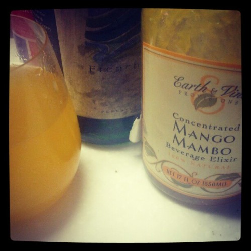 How to improve fair Brut. #wine (Taken with Instagram)