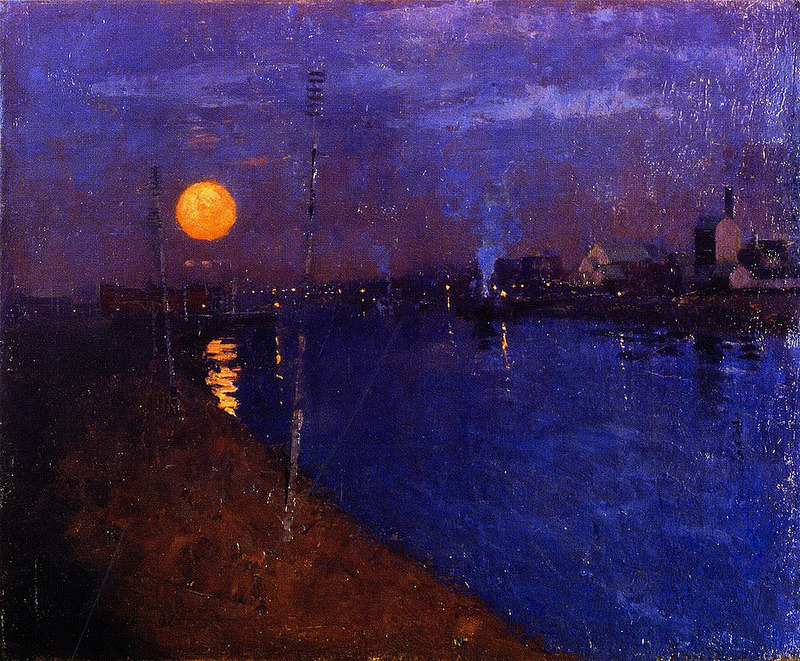 George Henry, Sundown, 1887
