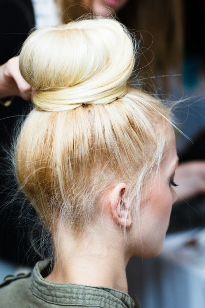 The bun is the best hairstyle ever invented!!