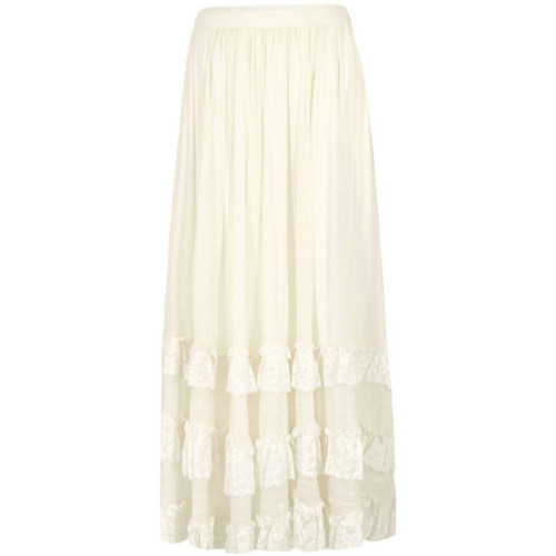 Priestley s Vintage skirt   ❤ liked on Polyvore (see more long skirts)