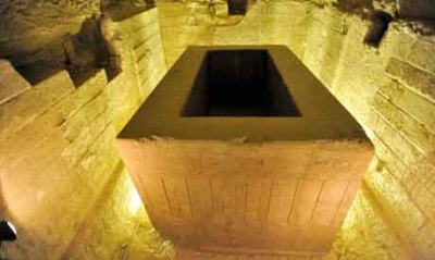 The Apis tombs at Saqqara Necropolis back on Egypt's tourist map  After almost three decades of debate among engineers, archaeologists and restorers, the well-known Apis tombs at Saqqara necropolis known as the Serapeam have finally been restored. The tombs of Ptahhotep and Mereruka, two Old Kingdom noblemen, were also inaugurated after restoration. The Serapeum is one of the main tourist attractions in Saqqara, discovered by archaeologist August Mariette in three stages in 1851-1854, during his business trip to Egypt to document and list Coptic manuscripts in monasteries. While waiting for permission from the Patriarch of the Coptic Church, Minister of State for Antiquities (MSA) Mohamed Ibrahim recounted to reporters, Mariette went on an exploratory trip to discover Egypt's monuments and archaeological sites. During his trip, he found several engravings bearing the name of Osiris Apis and, asked about that name, archaeologists told him that it was the god of Saqqara. Mariette then went to Saqqara, where he discovered the Apis bull tombs and called them the Serapeum, a name used by French historian Strabon referring to Serapis. From 1851 and 1854 Mariette managed to discover the two parts of the Serapeum: the vaults including the tombs of Apis bulls from the 18th to the 26th dynasties (still under restoration); and the great Serapeum which has now been restored, consisting of a long corridor lined with 24 Apis bull vaulted tombs with granite sarcophagi.