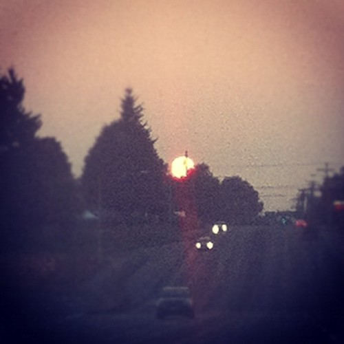 Hey big sunset. You're pretty cute. (Taken with Instagram)