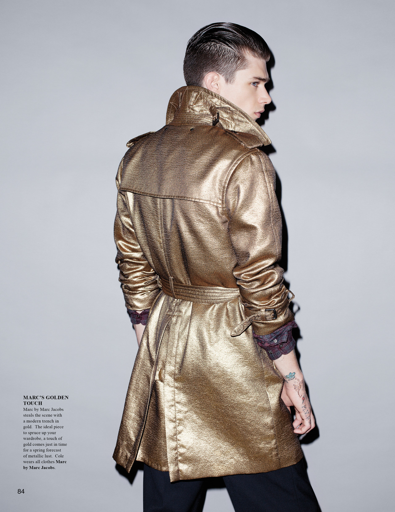 jensingvarsson:  Cole for The Fashionisto 5 editorial, shot by Jens Ingvarsson.