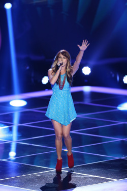 "nbcthevoice:  Cassadee Pope wowed all four coaches with her take on ""Torn!"""