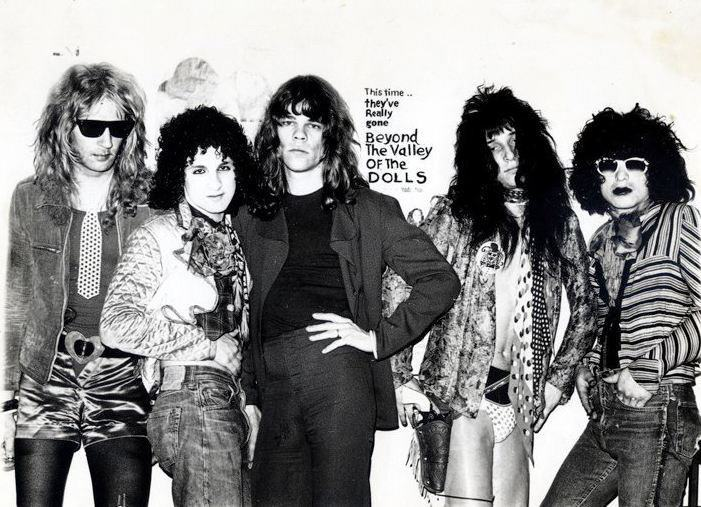 New York Dolls with Billy 'Dolls' Murcia