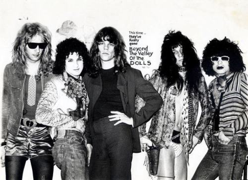 New York Dolls with Billy 'Dolls' Murcia.
