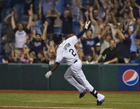 "rays-tank:  Upton on his last remaining days with the Rays  He remembers his embarrassing first day as a (Devil) Ray, dehydrating during a 2002 instructional league workout and taken from the old Naimoli training complex by ambulance. His first big-league hit, a single off Tim Wakefield as a 19-year-old who wasn't ready to be there. His first home run, two weeks later off Kelvim Escobar. The starts and stops — and position changes — along the way, The struggles in the green uniforms before the transformation in blue. The low point of being pulled off the field for a lack of hustle. The crescendo of the 2008 postseason. And now B.J. Upton can see the end. ""I try not to, but as the (end of the) season closes in, it's tough not to think about it,"" Upton said. ""It could be a little weird."" Upton is a free agent at the end of the season, which means, in all likelihood, he is playing his final games with the Rays — nine, if they don't make the playoffs, and counting. Upton, agent Larry Reynolds and Rays executive vice president Andrew Friedman all throw out the proper caveats: That they'll talk, that no decisions have been made, that who knows what will happen. (It also should be pointed out that they had several discussions in the past without ever agreeing on a multi-year deal.) But the reality is that while the Rays could pay the kind of money Upton is headed toward — say, $12-14 million a year, or more — they can't afford the risk of committing to the number of years that players in his position get, say, four to seven. ""You see what the history is,"" Upton said. ""But I don't know. It's too early to tell what's going to happen."" Most likely, what will happen is that the Rays, to get draft pick compensation under the new free agency system, will make a qualifying offer right after the World Series, a one-year deal, based on an MLB average of top salaries, for around $13.25 million. Reynolds will have a week to get a sense of things, then turn down the offer and Upton will hit the open market as a 28-year-old with a rare combination of power and speed and the ability to impact the game in all phases, seeking that money maybe half a dozen times over. ""B.J. goes out and plays every day, and he plays to win,"" Reynolds said. ""I think the rest of the talent speaks for itself. And I think the wise baseball people know what kind of talent B.J. has."" He has shown it in flashes during his parts of seven seasons with the Rays, the surges of power (like the 16 homers in his past 41 games), the speed on the bases, the ground he covers in centerfield and the lasers to the plate. He last month became the eighth player in major-league history to post 100 home runs and 200 steals before turning 28. ""B.J. has meant a tremendous amount to this organization,"" Friedman said, ""and has been an integral part of the success we've enjoyed on the field."" But he also has been maddening to watch over the years: Getting picked off, throwing to the wrong base, striking out often and snarling at the umpire, and taking an at-times casual approach that at least makes it look like he is not hustling. (And led to him twice getting benched during the 2008 season.) ""I've talked often about how there's no fear in his game, no fear at all,"" manager Joe Maddon said. ""I also believe he has matured annually. He has become a better baseball player every year, to the point that where he's at right now, he is the best he's been. ""And not just because he's hitting home runs now. I think his decision-making on the bases has gotten better. I think his decision-making in the field has gotten better. Even his at-bats with borderline pitches, you don't see the same arguing with umpires. All that stuff seems to have gone away. So there's a higher level of maturity in his game in general."" Veteran starter James Shields, who has known Upton since he was the No. 2 pick in the 2002 draft and is a day behind him as the longest serving current Ray, is impressed with the progress. ""Over the last few years, he's really become a leader,"" Shields said. ""Especially this year, he's really good in this clubhouse, helping a lot of guys out. He's evolved as a player. He's really come into his own."" Upton, who grew up in Virginia, is comfortable enough in the Tampa Bay area that he not only calls it home now but plans to stay, regardless of where he ends up playing. But he feels he has never been fully accepted, which could make next week's potential three-game farewell even more interesting. ""I kind of got the feeling here that either you love me or you hate me, there is no in-between,"" Upton said. ""So I'm sure there will be some mixed feelings. I can't control that. People are going to have their own perceptions and their opinion and what they think. ""I know what I'm about. Guys I played with over the years, they know what I'm about. You kind of mature every year, and that's what I've done. I don't regret anything that's happened, good or bad. It's kind of made me who I am now."" Soon, that will include being an ex-Ray. ""That's out of my control, and we'll see what happens then,"" Upton said. ""My thing is to have as much fun with these guys as I can now."" Marc Topkin can be reached at topkin@tampabay.com.Upton by the numbers 0 Players who have led the Rays in homers, RBIs and stolen bases in a season; he has a shot to be the first 2 Major-leaguers with 25 homers and 30 steals; Upton and the Angels' Mike Trout 16 Homers in his past 41 games since Aug. 11, most in the majors during that span, including 10 in September 50 Outfield assists since 2007, most among all centerfielders"
