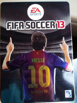 the fact that people all over the world have fifa 13, and i dont, makes me an angry man #ultimateteam #messi