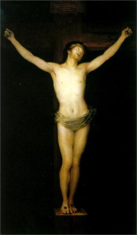 Francisco Goya, Crucified Christ, 1780.