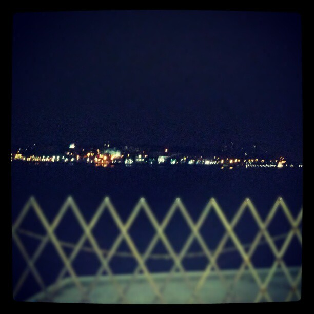 Staten Island, Night, From the #Ferry #nyc (Taken with Instagram)