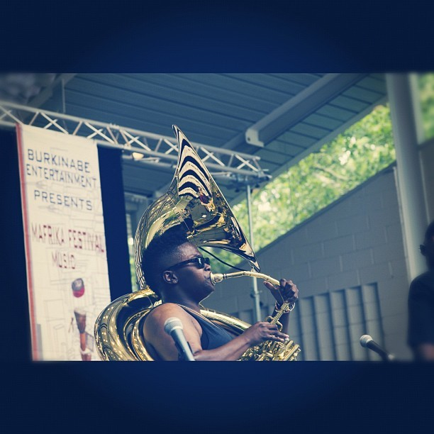 TUBA{{FReSH}}! Mafrika Festival 2012 Credit: Atane Ofiaja (Taken with Instagram)