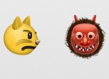 Is it me or does these two emoji's have some hidden bg.  He's all 'nah I don't fucks wit this niggah'