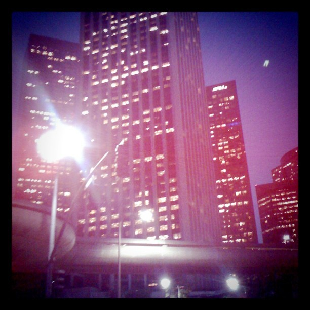 Get outside every day. #Miracles are waiting everywhere #dtla (Taken with Instagram)