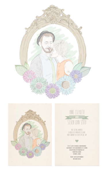designersof:  Wedding invitation design & illustration.For more of my work check me out here!