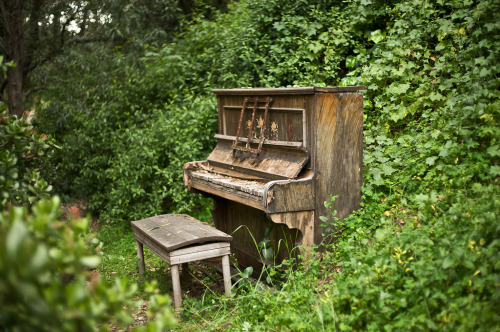 Ghost Piano by R.G.J.