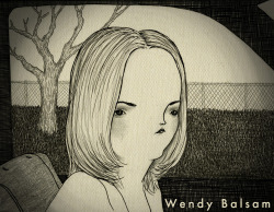 """you make me look bad, I will never talk to you again, ever.   Wendy Balsam 2012, ink, graphite, digital © Mai Ly Degnan"