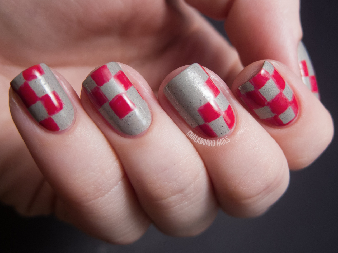 31 Day Challenge 2012Day 26: Inspired by a Pattern (checkerboard) Essence The Dawn is BrokenZoya Renee