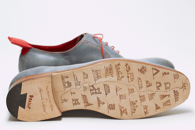 Dominic Wilcox has created a fully functional prototype pair of shoes that will guide you home no matter where you are in the world.