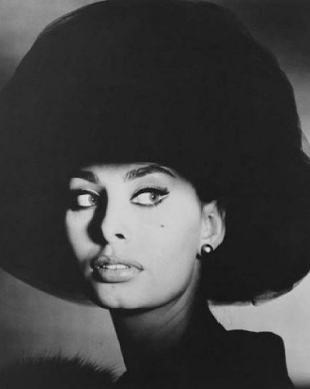 artnet:  Sophia Loren, Photographed by Irving Penn Irving Penn's alluring portrait of Sophia Loren, one of the most beautiful women of the 20th century, exemplifies his stature as one of the greatest portrait photographers of all time. Shown in several major Penn retrospectives around the world, this piece is number 1 of an edition of only 6 prints that were made in platinum. This is the first time a platinum print of this image has ever been offered at auction!  Place your bid for Sophia Loren, New York (1959) on artnet Auctions.