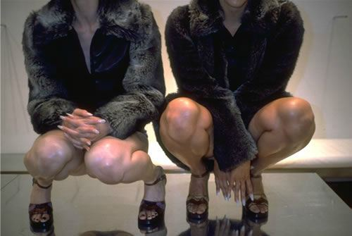shameless2012:  VANESSA BEECROFT \ MIU MIU STORE \ NEW YORK \ vb22.015.vb \ 1996