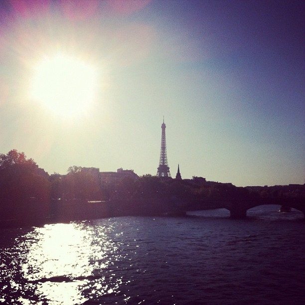 modaoperandi:  Bonjour Paris! Happy #pfw day one!  (Taken with Instagram)  #pfw the most glamorous caravan made it to Paris: bonjour a tous le monde