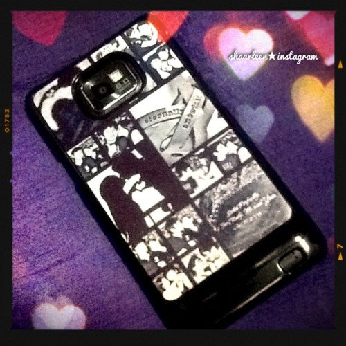 yey! my customized case just arrived! and  i looooove it! :)) ❤ (Taken with Instagram)