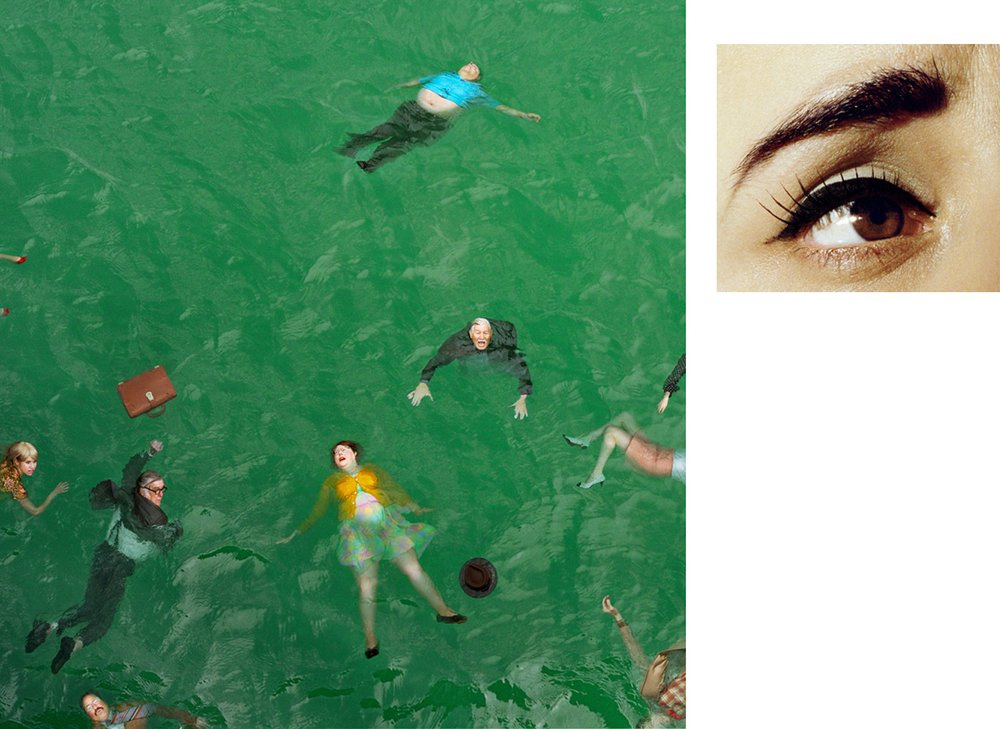 3:14 pm, Pacific Ocean and Eye #9 (Passenger Casualties) - Alex Prager