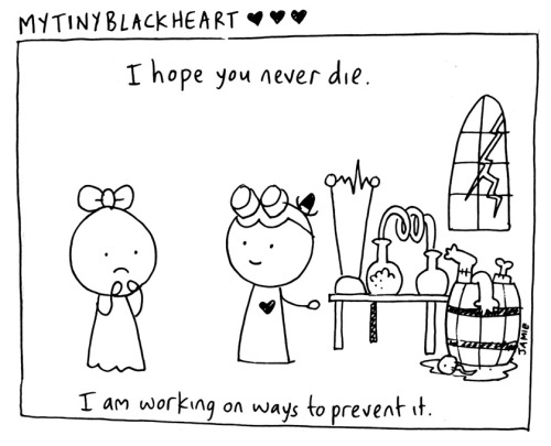nevver:  My tiny black heart