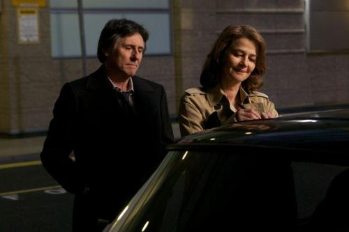 "Gabriel Byrne and Charlotte Rampling in ""I, Anna""."