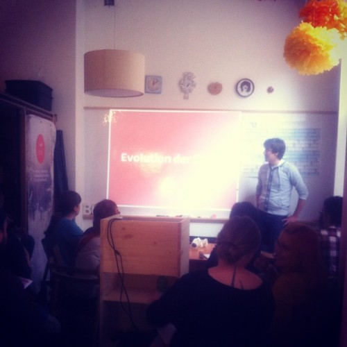 SEO Workshop  (Taken with Instagram at Etsy Labs Berlin)