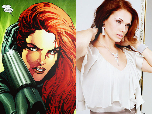 Amanda Righetti as Natasha Romanova Dreamcast