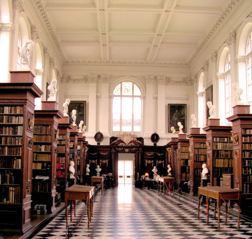 What I wouldn't do to study at that library… A dream come true