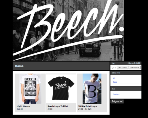 beechofficial:  CHECK OUT OUR NEW MERCH STORE - http://beech.bigcartel.com -