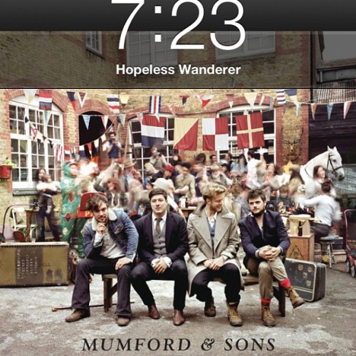 traceofyou:  SO GOOD 😍😭🙌 #mumfordandsons #babel #perfection  (Taken with Instagram)