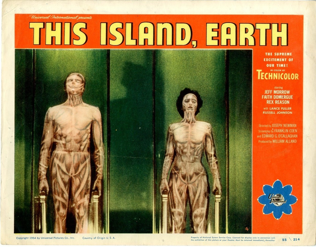 This Island Earth, US lobby card. 1955