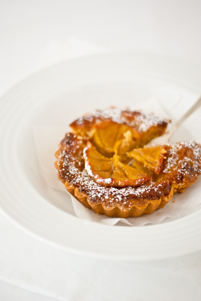 persimmon frangipane tartlets click here for recipe