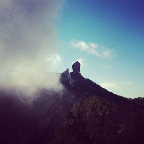 Roque Nublo (Taken with Instagram at Roque Nublo)