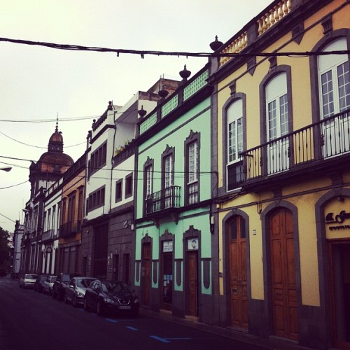 Calle de la Heredad, Arucas (Taken with Instagram at Arucas)
