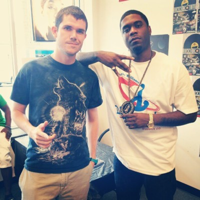 Throwback, me and big krit (Taken with Instagram)
