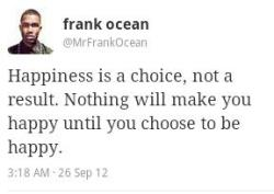 Fake Frank Ocean is an idiot.