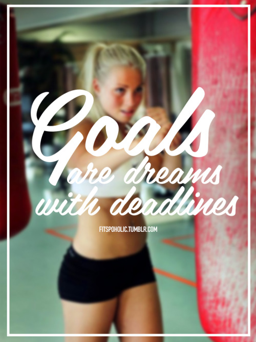 eatcleanmakechanges:  and I see deadlines as a good thing—-