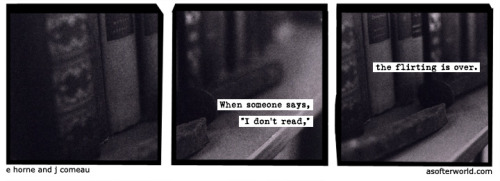 softerworld:  A Softer World: 873 (and the hunt begins.)