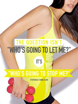 fitspoholic:  The question… More fitspo wallpapers here