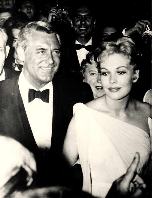 Cary and Kim at Cannes.