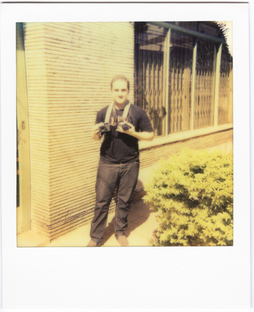 Sem Titulo / Untitled on Flickr.Polaroid Land 1000 / Impossible PX 70 Color Shade  #FlickrGroupQueimandoFilme http://www.queimandofilme.com