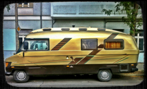 How can ANY car be cooler than this golden beauty?