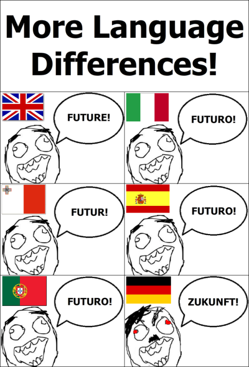 Language differences!
