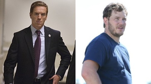 Homeland and Parks and Recreation Ben gets assigned to run the campaign of the latest vice presidential nominee: one Nicholas Brody. All is going well until cop-in-training Andy comes to visit April and notices something fishy going on with the former Marine. When the rest of the Pawnee gang refuses to indulge him, he goes into full Burt Macklin mode and proves himself right — that everything in D.C. is a clue. Read more: Fall TV 2012: Crossovers We Want to See
