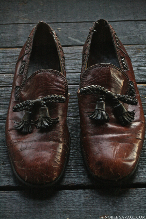 """LOAFER GOD"" GUCCI circa 1960s ART DIRECTION & PHOTOGRAPHY BY Ali of A NOBLE SAVAGE"